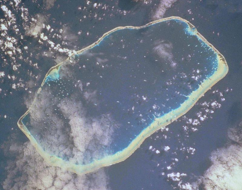 Toau Tuamotu from sattelite