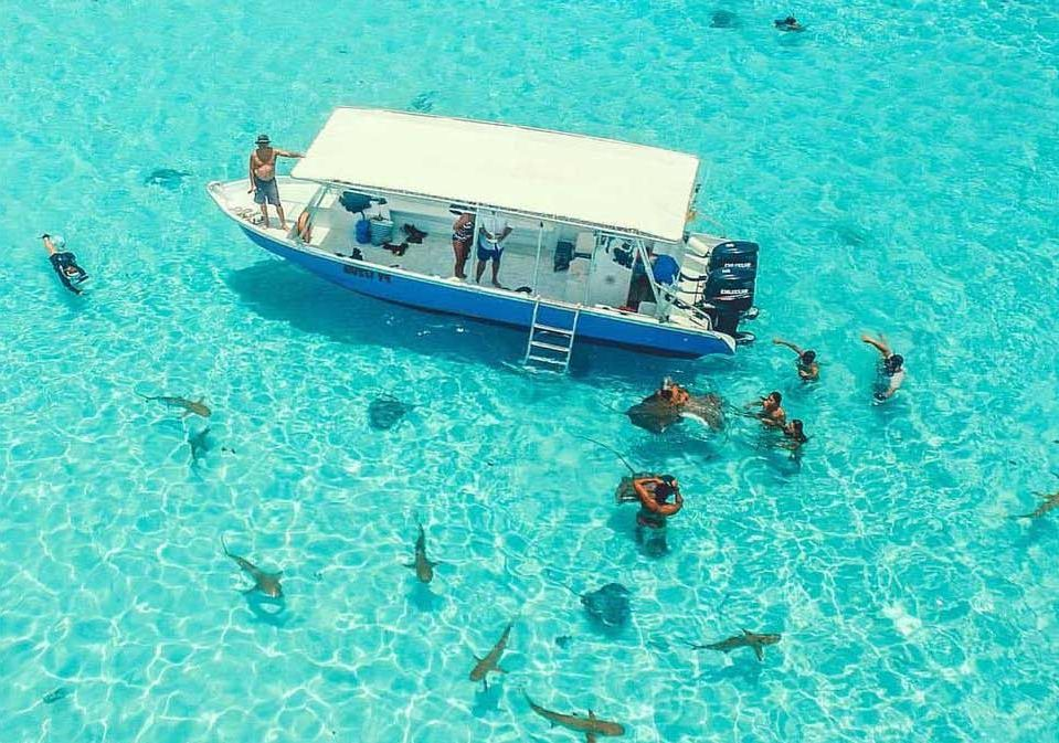 progulki po lagune ostrova moorea