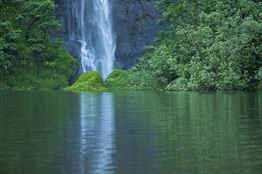 vodopad zelenj