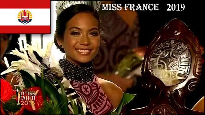 Победительница конкурса красоты вернулась на Таити