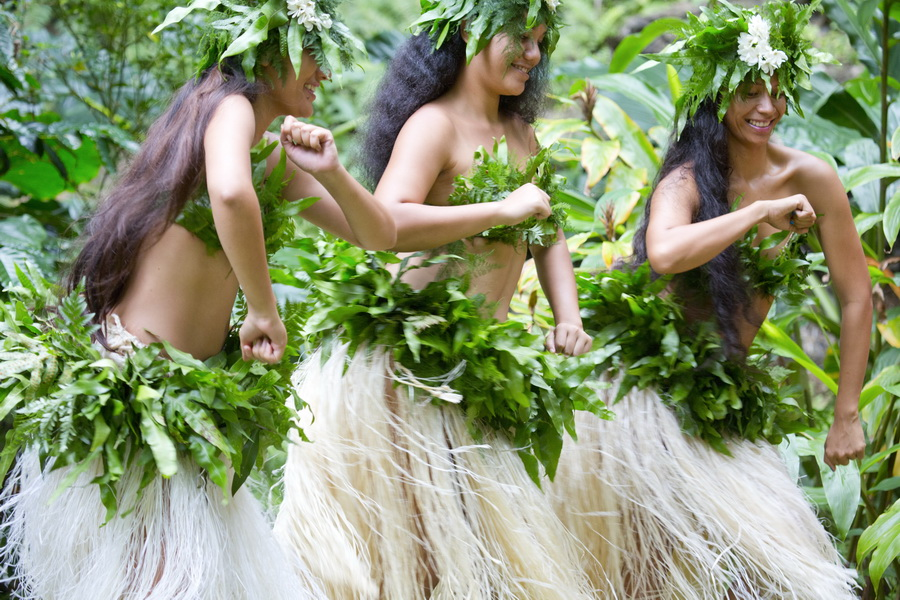 danse in polynesian