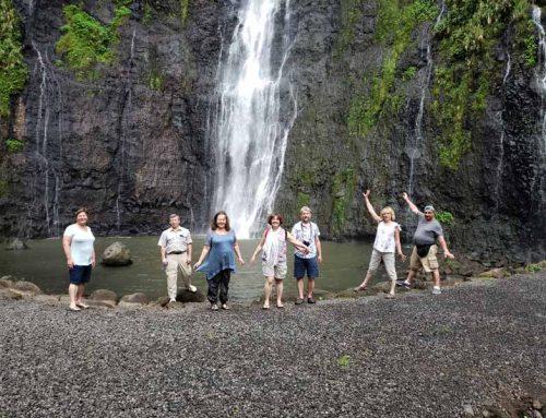 Водопады Таити