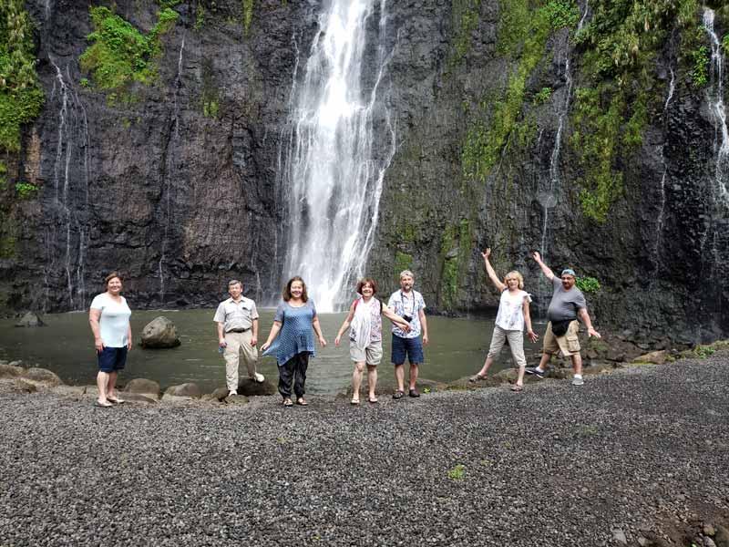 Таити водопады