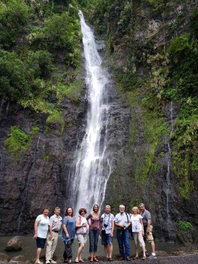 Водопад Таити