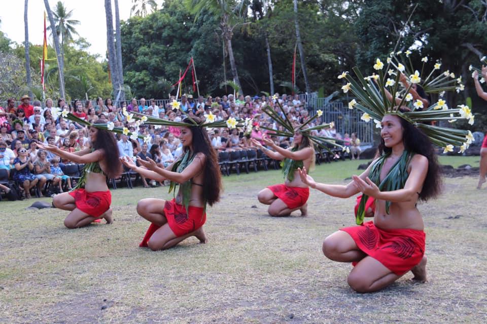 Таитянский танец